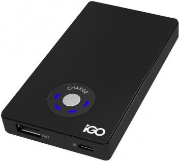 iGo 6100mAh Power-Bank Externer Akku USB Ladegerät Universal Tablet Smartphone