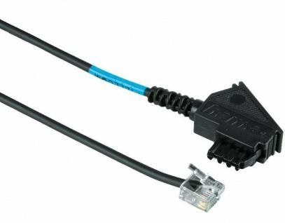 Hama 15m DSL Splitter-Kabel NTBA Anschlusskabel TAE-F - 6P2C DEC Western-Stecker