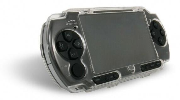 Speedlink Crystal Stand Case Schutz-Hülle Hardcase Skin für Sony PSP Slim&Lite