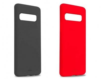 Puro ICON Cover Silikon Schutz-Hülle Soft Case Tasche für Samsung Galaxy S10