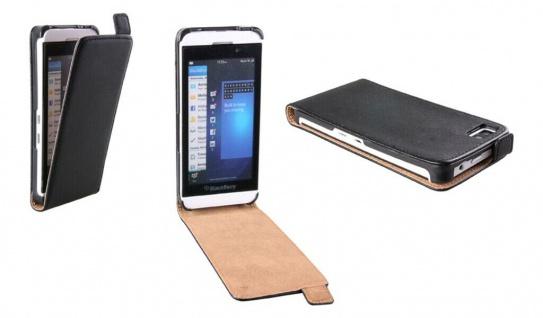 Patona Slim Flip Cover Klapp-Tasche Schutz-Hülle Cover Case für Blackberry Z10