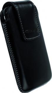 Krusell Vinga Mobile Case M black Classic Case Leder-Tasche Etui Bag Hülle