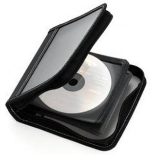 Ednet 24er CD DVD Blu-Ray Wallet Tasche Case Aufbewahrung Hülle Mappe Box Bag