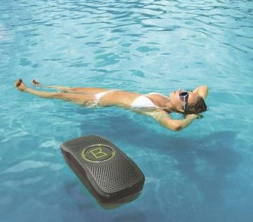 Monster Backfloat Bluetooth Schwimm-Lautsprecher Dusche Badewanne Pool Box BT - Vorschau 1
