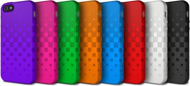 XtremeMac Silikon Skin Cover Schutz-Hülle Case Tasche Etui für Apple iPhone 5S 5