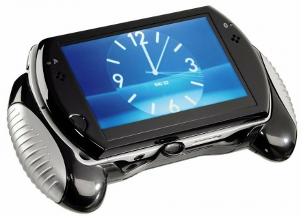 Hama Game-Pad Controller Tasche Hard-Case Griff Grip Pad für Sony PSP GO Konsole