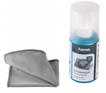 Hama Reinigungs-Gel + Tuch Reiniger für LCD LED TFT PC Bildschirm Display TV