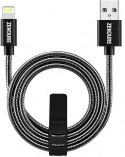 Zendure ALU Lightning-Kabel USB-Kabel 1m Ladekabel Daten-Kabel für Apple MFI