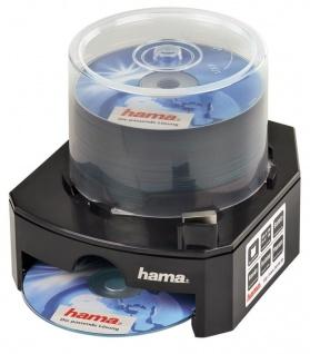 Hama CD DVD Blu-Ray BD Dispenser Spender für max 100 Rohlinge CD-R DVD-R etc