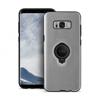 Puro Magnet-Ring Cover TPU Case Schutz-Hülle Clear Tasche für Samsung Galaxy S8