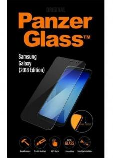 PanzerGlass Glas Display-Folie Schutz-Folie Panzer für Samsung Galaxy A9 2018