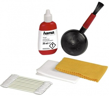 Hama Profi 5in1 Reinigungs-Set Reiniger Reinigung Objektiv-Pinsel Kamera DSLR