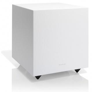 """Audio Pro Addon SUB White 20cm / 8"""" Aktiv Bassreflex Subwoofer Lautsprecher HiFi"""