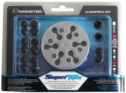 Monster SuperTips S/M Foam Ersatz-Ohrstöpsel Ohrpolster Ohrhörer InEar Kopfhörer