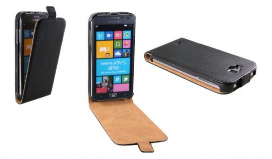Patona Slim Flip-Cover Klapp-Tasche Schutz-Hülle Case für Samsung I8750 Ativ S