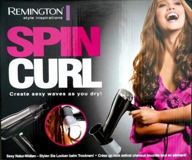 Remington Special-Edition Spin-Curl Haar-Trockner Fön Natur-Wellen Locken-Föhn