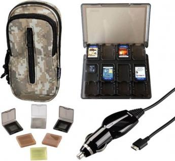 Hama Mega PACK Tasche Kfz-Ladekabel Spiele-Hüllen Case für Sony PS Vita PSV Slim