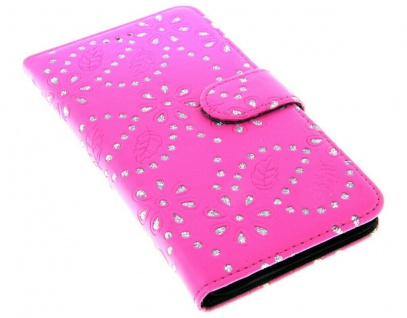 Patona Slim Flip Book-style Klapp-Etui Schutz-Hülle für Apple iPhone 6 6S Plus