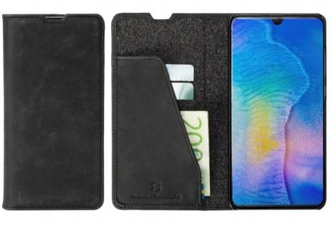 Krusell Folio Wallet Tasche Smart Schutz-Hülle Case Cover für Huawei Mate 20