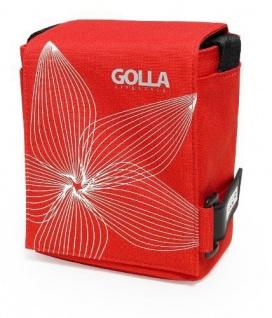 Golla Sky G864 Kamera-Tasche rot für DSLR SLR SLT Systemkamera Camcorder Tasche