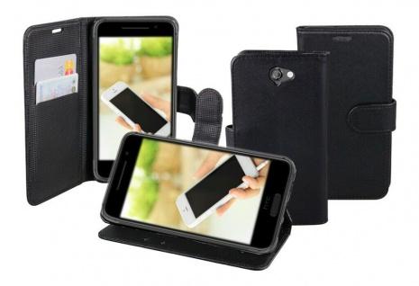 Patona Slim Flip-Case Book-style Tasche Klapp-Etui Schutz-Hülle für HTC One A9
