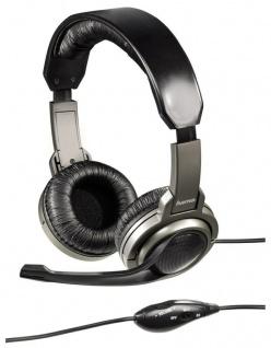 Hama Lern-Kopfhörer 3, 5mm Klinke für Home-Schooling Heim-Unterricht + Microphone