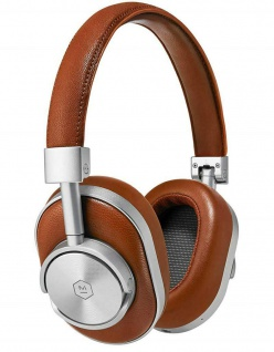 Master & Dynamic MW60 Brown Wireless Headset Bluetooth Leder Kopfhörer Earphones