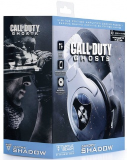 Turtle Beach Ear Force SHADOW Gaming Headset Ghost Kopfhörer für PS4 PS3 PC Xbox