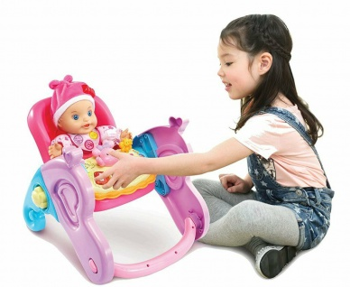 Vtech Little Love Serie 4in1 Baby-Schale Puppen-Zubehör Puppen-Trage Wippe - Vorschau 5