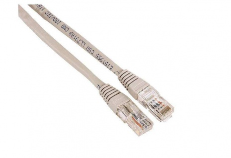 Hama 5m Netzwerk-Kabel Cat5e UTP Lan-Kabel Patch-Kabel Cat 5e Gigabit Ethernet