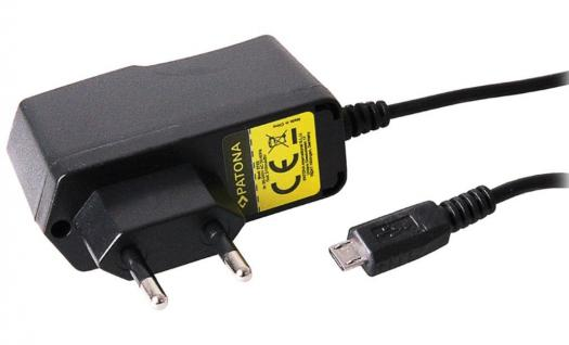 Micro-USB Ladegerät 5V 2A Netzteil Netz-Lader Ladekabel für Navi Navigation GPS