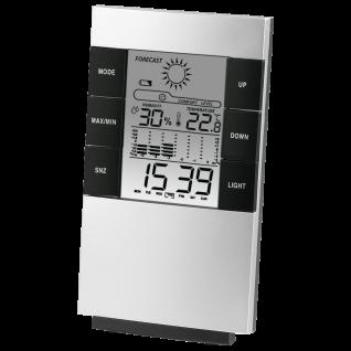 Hama LCD Thermometer Hygrometer TH-200 Zeit Luftfeuchtigkeit Wetteranzeige