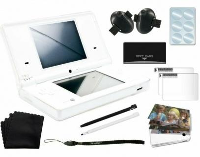 Brooklyn Crystal Case Kit Zubehör Set Hardcase Box Folie Stifte für Nintendo DSi