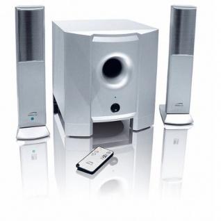 Speedlink Full Metal 2.1 Subwoofer Sound-System Lautsprecher Boxen für PC TV etc