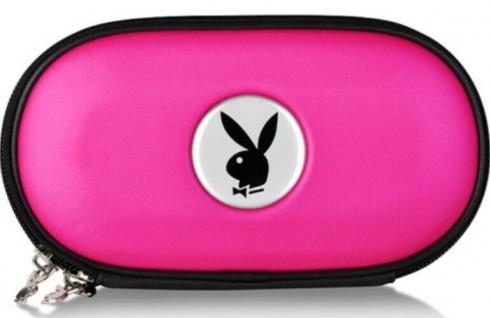 Playboy Hardcase Tasche Pink für Sony PSP Slim&Lite Fat Street E1000 Hülle Etui