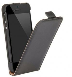 Cellux Flip-Cover Klapp-Tasche Schutz-Hülle Case Etui für Apple iPhone 5 5s SE