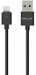 Cellux Lightning Sync- und Lade-Kabel Apple iPhone 5 5S 5SE 6 6S 7 7 Plus 8 1m