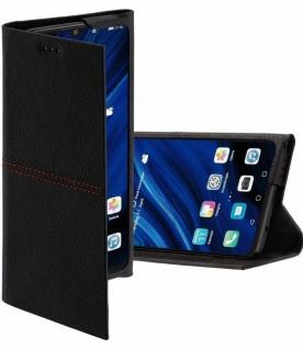 Hama Flip-Case + Karten-Fach Cover Schutz-Hülle Klapp-Tasche Bag für Huawei P30