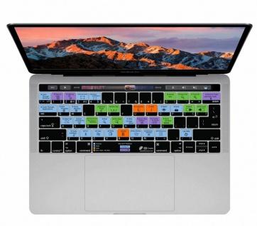 Tastatur-Skin Abdeckung Deutsch Shortcuts Hotkeys Cover für MacOS MacBook Pro