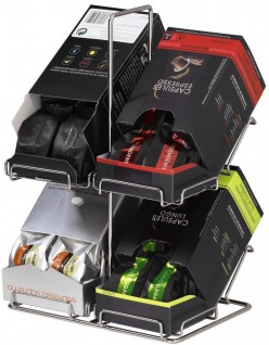 Hama Kapsel-Ständer Kapsel-Halter für div. Nespresso System-Verpackungen Kapseln