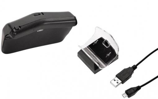 Hama Zusatz-Akku Powerbank + Lade-Station Lader für Sony PS4 Controller Game-Pad