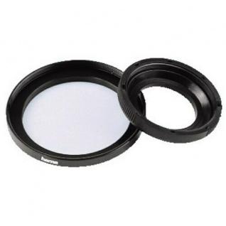 Hama Filter-Adapter Objektiv 27mm Filter 37mm Adapter-Ring 27-37 mm Step up Ring