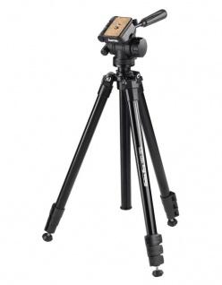Hama Dreibein-Stativ Delta Pro 180cm 3D 3-Wege-Kopf Kamera-Stativ Foto-Stativ