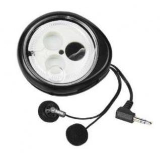 Hama Roll-Up-Stereo-Kopfhörer HK-210 Headphone 3, 5mm Klinke 1, 2m Schwarz