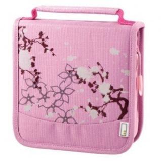 aha 32er CD DVD Blu-Ray Tasche Pink Wallet Case Aufbewahrung Hülle Mappe Box Bag