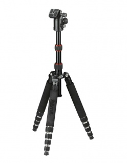 Hama Dreibein-Stativ Traveller Premium 144cm Ball Kamera-Stativ Foto-Stativ
