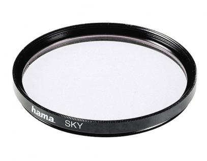 Hama Skylight-Filter 72mm Sky-Filter für Digital Foto DSLR DSLM Kamera Camcorder