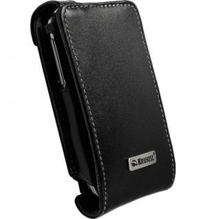 Krusell Flip Case Handy-Tasche für HTC Touch 2 Etui Schutz-Hülle Klapp-Tasche