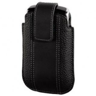Hama Handytasche Etui Köchertasche für Blackberry 8900 8520 lLeder Schwarz
