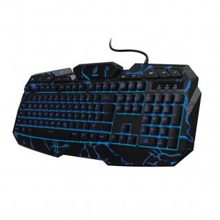 Hama uRage Gaming-Tastatur Illuminated² USB Keyboard LED Beleuchtet QWERTZ